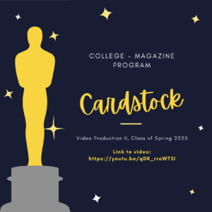 10.7.20 4. UIW NATAS Student Production Awards Nominees (October 2020)